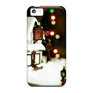 Anti-scratch And Shatterproof Santas Workshop Phone Case For Iphone 5c/ High Quality Tpu Case