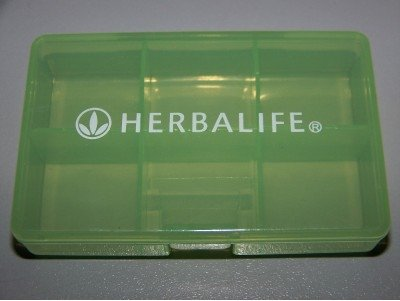 - Herbalife Pill Tablet Box Container Dispenser Small 7-slot