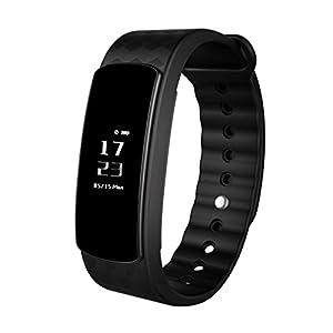 Montre Connectée, LESHP Fitness Tracker d'Activité Etanche Montre Sport Bracelet Connecté, Smartband Bluetooth Smartwatch Podometre pour Femme Homme Enfant pour iPhone Samsung Android iOS