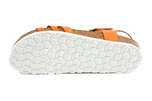 PL1 Orange Sandales pour PLAKTON Femme 37 115 EU Orange dpqxaSX