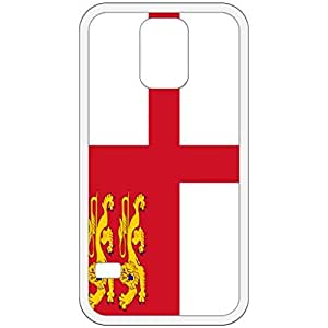 Sark Flag White Samsung Galaxy S5 Cell Phone Case - Cover