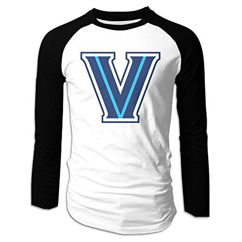 (Men Villanova Wildcats Mark Jackson Will D. Cat Raglan Baseball T-Shirt)