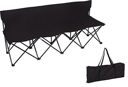 Trademark Innovations 4 Person Folding Sideline