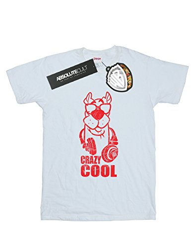 de Crazy Man blanca Absolute Cult Scooby Cool Doo Camiseta SAOn66