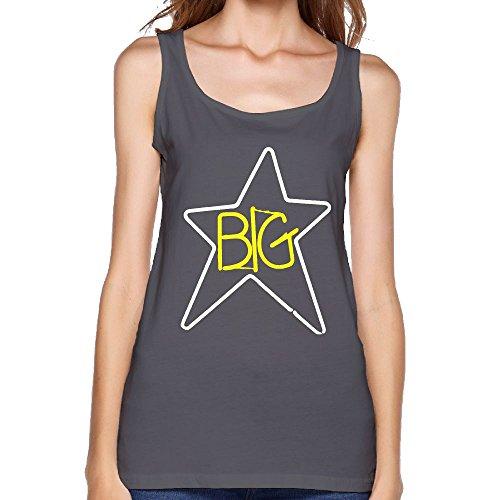- Quliuwuda Womens Big Star Symbol Fitness Outdoor DeepHeather Sleeveless Shirt L Tank Tops