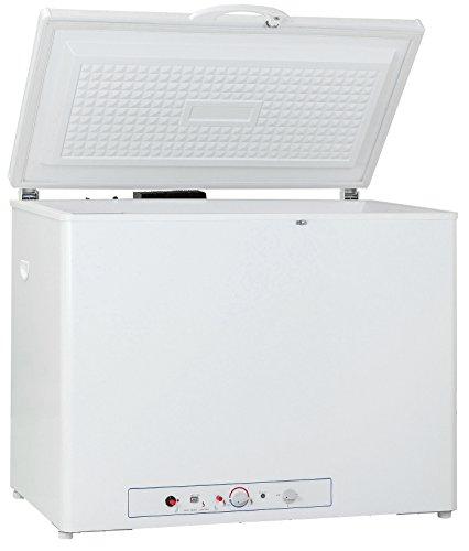 Smad Propane Freezer for Home 2-Way 110 volt Gas Freezer Chest Freezer, 7 Cu ft, White
