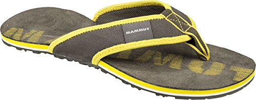 Mammut Sloper - Chanclas Mujer - gris/Turquesa 2016 bark/yellowstone