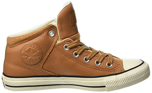 3efded291203 Converse Unisex Adults  CTAS High Street Hi Raw Sugar Egret Hi-Top Slippers  Beige Size  9.5 UK  Amazon.co.uk  Shoes   Bags