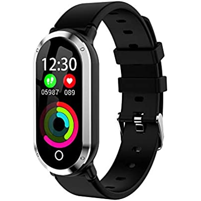SLGJYY Smart Wristband Fitness Bracelet Heart Rate Blood Pressure Monitor Fitness Tracker Watch Pedometer Sport Band Estimated Price £29.00 -