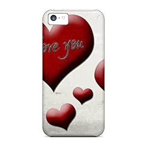 Iphone 5c Case Cover I Love You Case - Eco-friendly Packaging