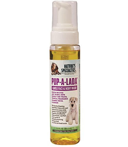 Foaming Detangler (Nature's Specialties Pup-A-Lada Foaming Facial Wash for Pets, 7.5-Ounce)