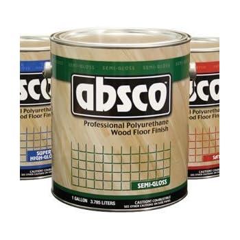 Absolute Coatings 89201 Absco Polyurethane Wood Floor