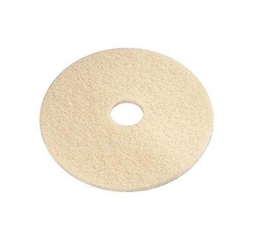 e-line Bodenpads 16.01.32.0005 Polyester Crystallisation Spezial-Pad, 127 mm Durchmesser, Crystal Gold, 10 Stück