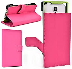 NuVur &153; Slim BookStyle Case w/Stand&Camera Hole[BLUSH] for Samsung SGH-T999