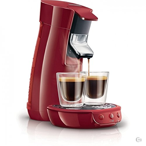 new genuine philips senseo hd7825 viva cafe coffee expresso machine red 220v gourmet coffee. Black Bedroom Furniture Sets. Home Design Ideas