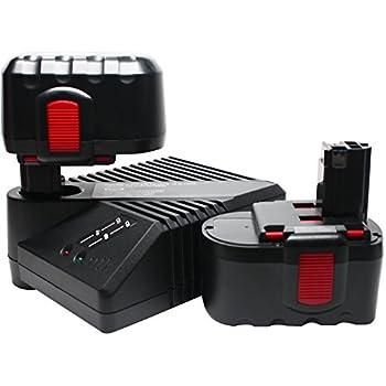 Amazon.com: 2-Pack – Bosch bat030 Batería + Cargador de ...
