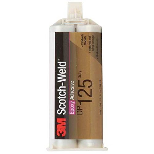 3M(TM) Scotch-Weld(TM) Epoxy Adhesive DP125 Gray, 50 mL, 12 per case Duo-Pak by Scotch