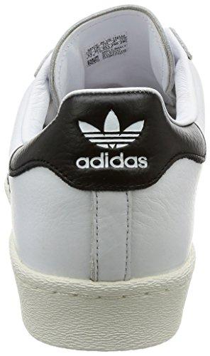 ... Adidas Menns Superstjerne, Hvit / Svart, 9,5 M Oss ...