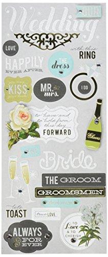 me & my BIG ideas mambiSTICKS Themed Stickers, Wedding