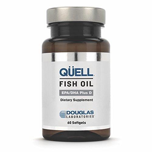 Douglas Laboratories - QUELL Fish Oil EPA/DHA Plus D - 3:2 R