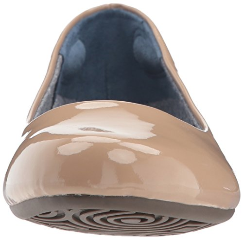 Dr. Scholls Kvinners Friendly2 Ballet Flat Campingvogn Sanden Patent