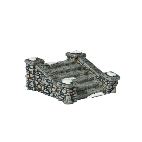 Halloween Display Platforms (Department 56 Accessories for Villages Limestone Steps Accessory)