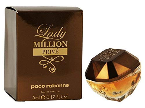 Perfume Miniatura Lady Million Privé Feminino Eau de Parfum 5ml - Paco Rabanne