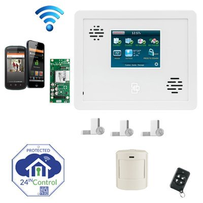 GE Simon XTi Wireless Alarm System with Interactive Wireless Service via Web and Smart Phone, iPhone, iPad, Blackberry or Android!