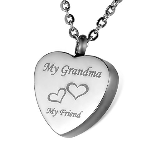 HOUSWEETY Grandma Stainless Waterproof Memorial