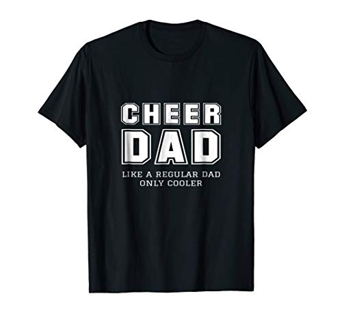 Team Green T-shirt Dad (Funny Proud Cheer Dad Cheerleader Father Gift Idea Tee Shirt)
