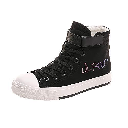 Tessuto Scarpe Leggere Stringate Pumps Casual Sneakers Black18 fit Fashion In Basse Peep Unisex Fit Lil Retro xT0q6Ap5wf