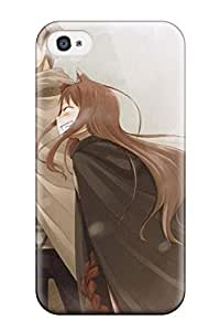 2999577K207198427 spice and wolf animal ears Anime Pop Culture Hard Plastic For Apple Iphone 5C Case Cover