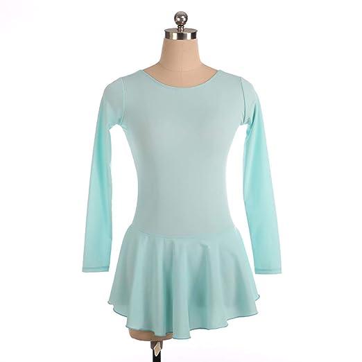 ZHENHZ Vestido De Patinaje Artístico Falda De Ballet para Niñas ...