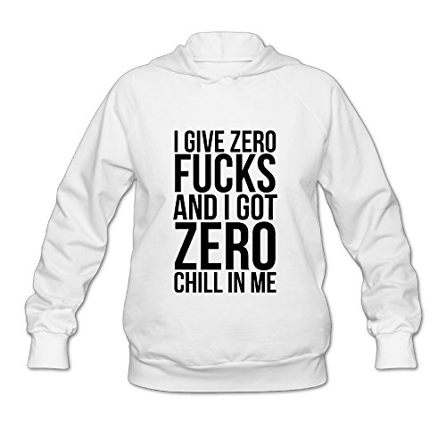 Nicki Minaj's Side To Side Line Hooded Sweatshirt White L For Women