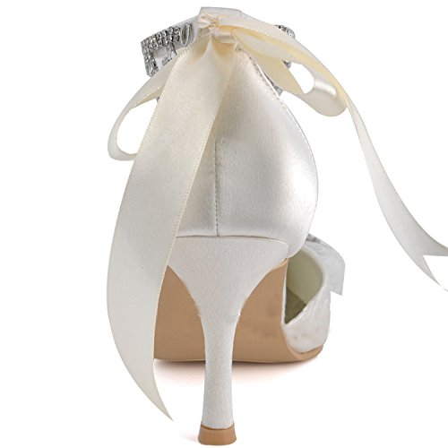 7 Chaussures femme mariage Minitoo Heel tendance de Ivory 5cm OnBZY