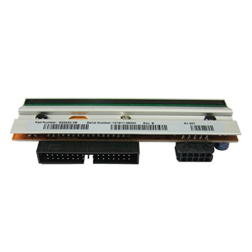 - Compatible for Zebra 105sl 203 DPI Printhead G32432-1m G324321m Printer