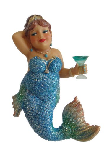 December Diamonds Miss Peacock Mermaid Ornament