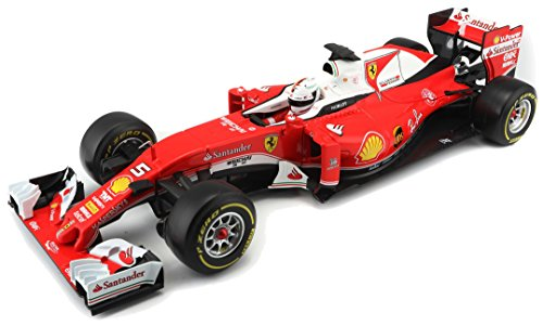 Bburago B18-16802V 1:18 Scale The Ferrari F1 Car As Raced by Sebastian Vettel in 2016