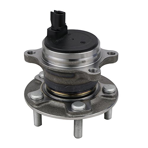 CRS NT512466 New Wheel Bearing Hub Assembly, Rear Left (Driver)/ Right (Passenger) Side, for 2012-2016 Ford Focus, FWD