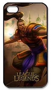 icasepersonalized Personalized Protective Case for iphone 4 - Game League of Legends Xin Zhao