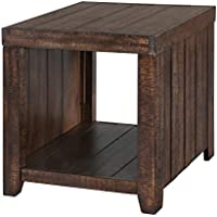 Magnussen T2528 Caitlyn Rectangular End Table