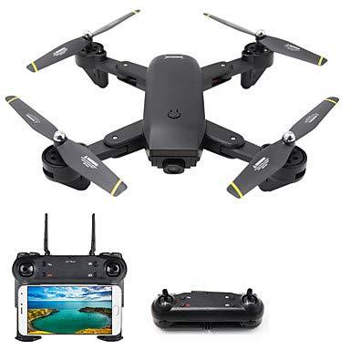shengshiyujia RC Drone 4CH 6 Ejes 2.4 G con cámara HD 2.0 MP 1080P ...