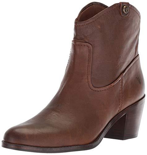 FRYE Women's Jolene Pull On Short Fashion Boot, Brown, 8 M US
