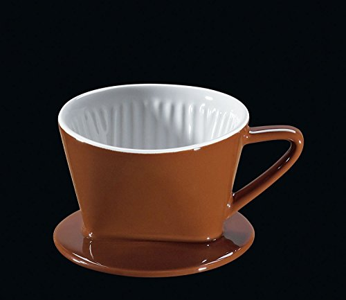 Cilio Porcelain 1 Cup Coffee Filter in Brown – CI105551 For Sale