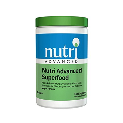 food - 302.7g - Reds & Greens Fruits & Vegetables Blend with Antioxidants, Fibre, Enzymes & Live Bacteria by Nutri Advanced ()