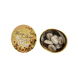 Bulk Buys Boxed Wishing Stones (Set of 20)