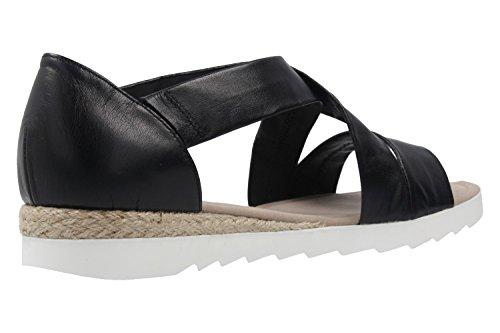 Gabor Shoes 62.711, Sandalias Mujer Black