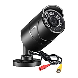 ZOSI 1080P 4-in-1 TVI/CVI/AHD/CVBS CCTV Security Camera 36 IR LEDs Outdoor Night Vision 100ft 3.6mm Bullet Camera Aluminum Metal Housing, Compatible for HD-TVI, AHD, CVI, and CVBS/960H analog DVR