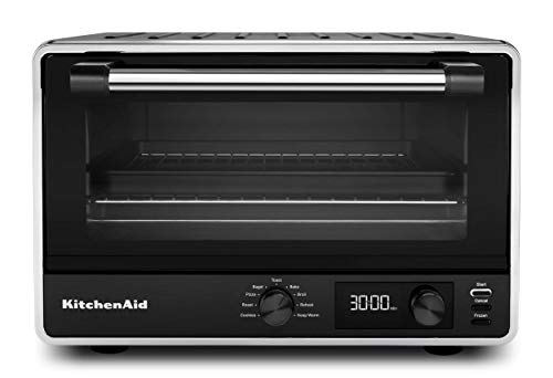 Best Digital Toaster Oven: KitchenAid KCO211BM digital countertop toaster oven