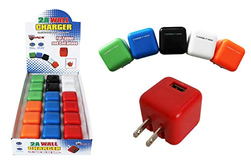 Dollar Item Direct USB Wall Charger (2 Amp), Case of 144